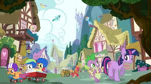 halloween background ponies tropes q to s my little pony friendship is magic tv tropes