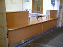 Bespoke Reception Desk Installed In A High School In Morcambe This Bespoke Reception Desk