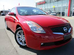 nissan altima coupe ontario used red 2008 nissan altima for sale collins nissan