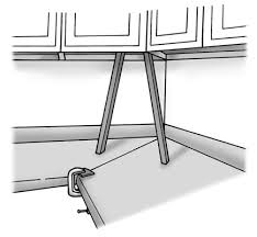How To Install Base Cabinets With Shims How To Attach Countertops To Kitchen Cabinets Dummies