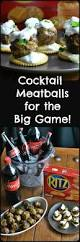 these cocktail meatballs are a great addition to any big game