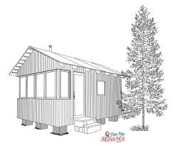 foundation archives small wooden house plans micro homes floor