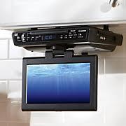 Under The Cabinet Tv Dvd Combo by Tvs U0026 Home Theater Led Hdtv Bluetooth Dvd Vhs Midnight Velvet