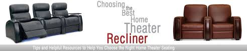 choosing the best home theater recliner brought to you by