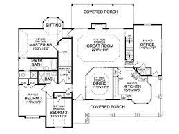 Large Farmhouse Floor Plans 692 Best Floor Plans Images On Pinterest Small House Plans