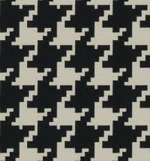 navy blue houndstooth upholstery fabric blue geometric home