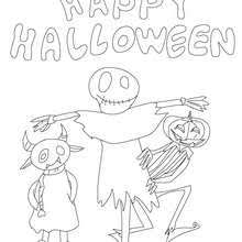 halloween posters coloring pages printable halloween posters