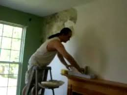 how to install faux finish wallpaper paper illusion youtube