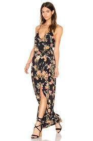 flynn skye wrap around dress in night blossom revolve