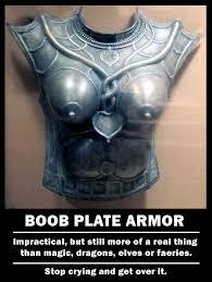 Boob Memes - boob plate armor meme by asylum77 on deviantart