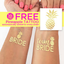 Tropical Themed Tattoos - party like a pineapple and throw the best beach tropical themed
