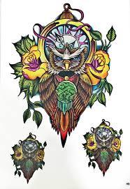 online get cheap henna tattoo owl aliexpress com alibaba group
