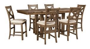 Extendable Table Mechanism by Laurel Foundry Modern Farmhouse Hillary Rectangular Counter Height