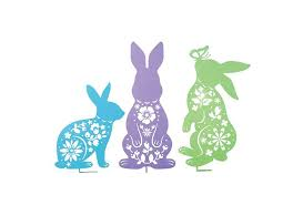easter rabbits decorations top 10 best outdoor easter decorations 2018 heavy