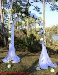 Wedding Arches Decorated With Tulle Before You Plan The Wedding Arch Decorations For The First You