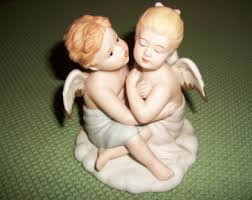 Home Interior Angel Figurines Collectible Angels Etsy