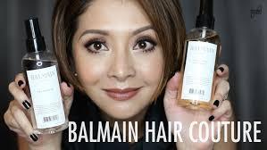 balmain hair review balmain hair couture cat arambulo antonio