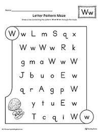 letter d pattern maze worksheet letter d the final destination