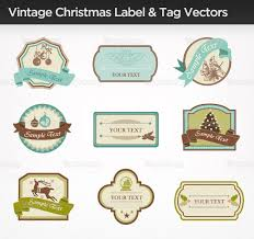 vintage xmas label tag vector http www vecteezy com holiday