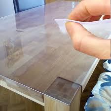 klebefolie transparent tischdecke tischfolie schutzfolie tischschutz folie 2mm