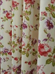 Floral Curtains Blossom Floral Pattern Curtain Fabric Curtains Fabx