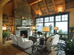 Log Home Interior Design Ideas by Rustic Interior Design 6392