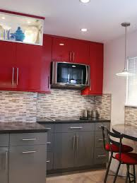 kitchen color ideas for small kitchens and red images idolza