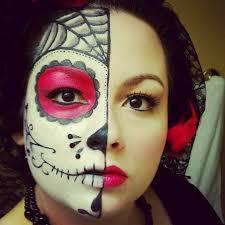 Sugar Skull Halloween Costumes 41 Beautiful U0026 Colorful Sugar Skull Halloween Makeup Ideas