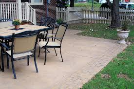 Pictures Of Stamped Concrete Walkways by Patios U0026 Sidewalks Outdoor Living Spaces Goodmanson Construction