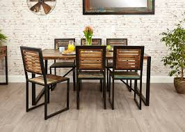 furniture awesome industrial chic dining chairs design dining