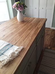 weekend flooring project natural beauty for your kitchen williamsburg butcher block builder oak oakbbis6l