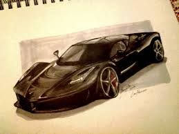 ferrari laferrari sketch la ferrari by camaro1 on deviantart