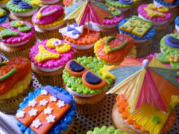 pool party cupcake ideas pool party cupcakes pool party