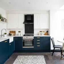 houzz blue kitchen cabinets blue and gold kitchen ideas photos houzz
