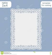 Wedding Invitation Cards Templates Free Download Laser Cut Wedding Invitation Card Template With Openwork Border