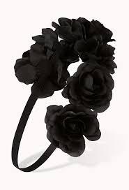 halloween black roses best 25 black flower crown ideas on pinterest halloween hair