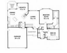 1500 Square Foot Ranch House Plans Ranch House Plans 40x50 Home Pattern