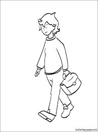 boris caillou coloring coloring pages