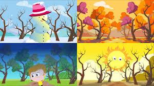 seasons song the four seasons song for children youtube