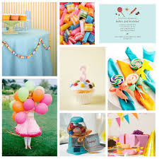 Decorations For Birthday Party At Home Children U0027s Birthday Party Decorate With Candy The Party Dress