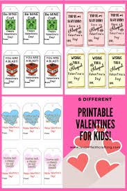 valentines for kids printable valentines for kids leap of faith crafting