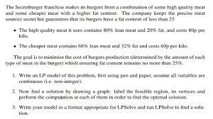 constraints linear programming problem solving mathematics