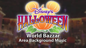 halloween background music tokyo disneyland disney u0027s halloween world bazzar u2013 area background