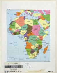 africa map emoji africa maps perry castañeda map collection ut library
