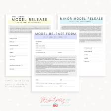 model release form templates for photographers strawberry kit