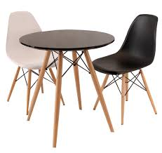 replica eames eiffel wood leg table 90cm