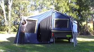 Oztrail Awning Sct Oztrail Latitude Camper Trailer Set Up Youtube