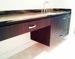 bathroom marvelous dark brown mahogany floating vanity with