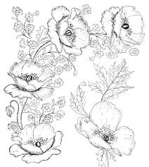 Flowers Designs For Drawing Digital Two For Tuesday Beautiful Flower Designs For Embroidery