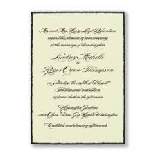 and black wedding invitations the american wedding traditional wedding invitations style design